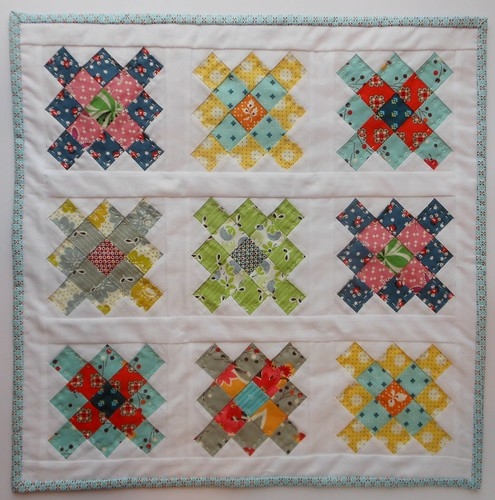 Mini Granny for DS Quilts Swap