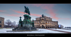 Dresden by Morning - The Semperoper