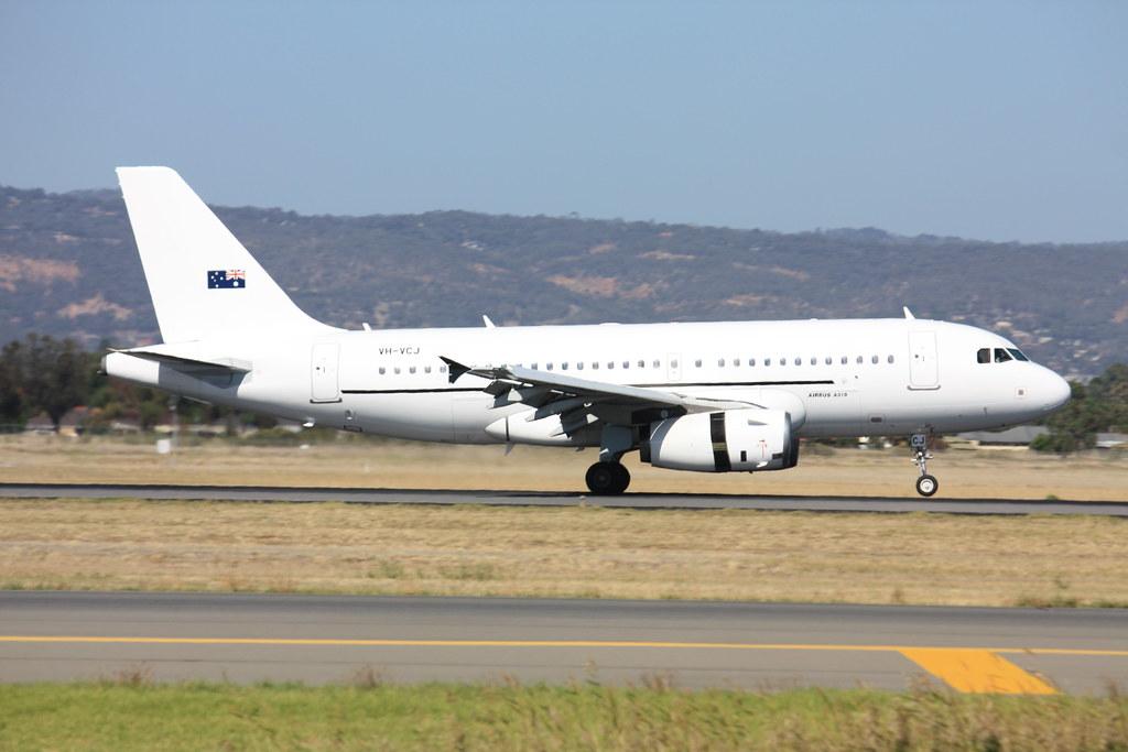 A319CJ  VH-VCJ