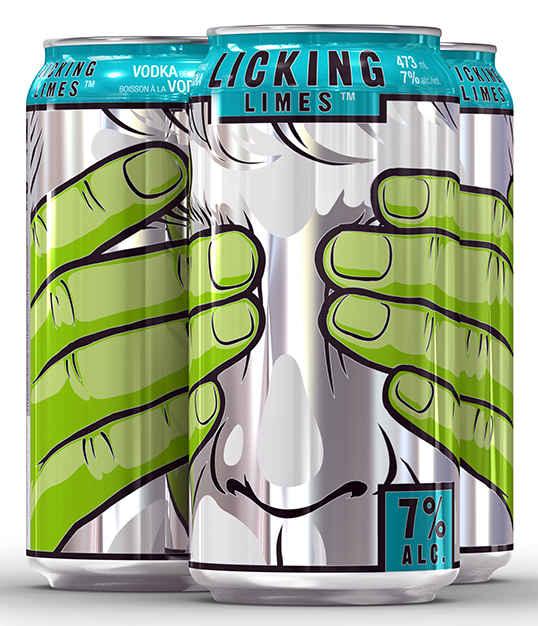 latas de aluminio con ilustraciones