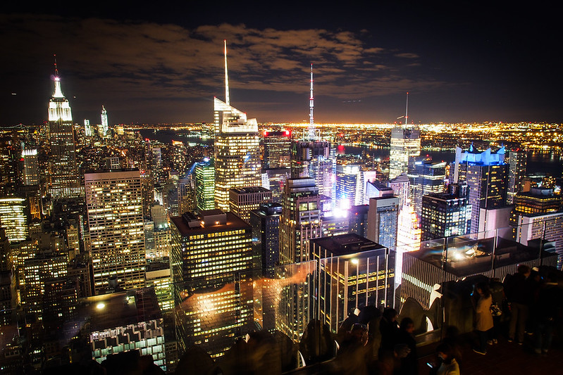 Top of rock|New York