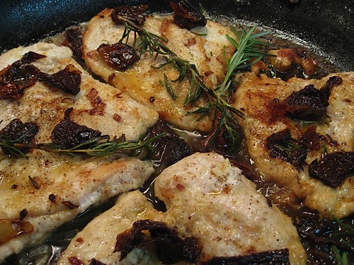 Chicken Cutlets in Rosemary Wine Sauce by Mary Ann Esposito   Fork ...