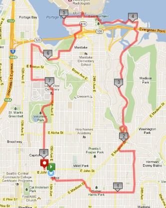 Today's awesome walk, 8.13 miles in 2:26 by christopher575