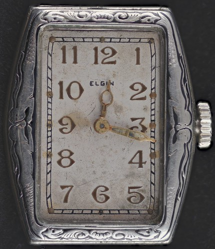 A very lovely and valuable old watch, not something you'd let just anybody wear. Image courtesy Darron Birgenheier via Flickr.