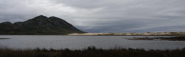 Monte Louro, lagoa e cordón dunar