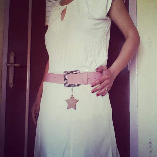 Look du jour robe et haut #camaieu et ceinture #kiabi #blog #blogueuse #mode #look
