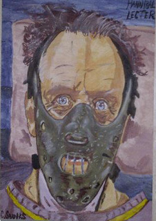 Hannibal Lecter painting