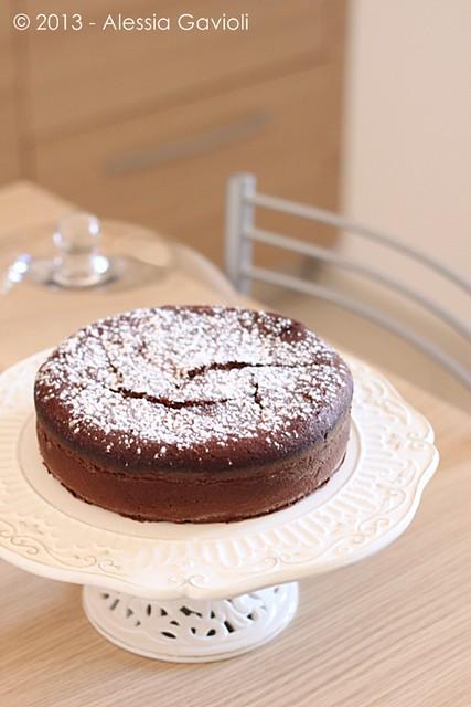 torta al cioccolato e panna acida