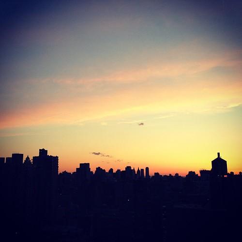 sunset viewfromthewindow