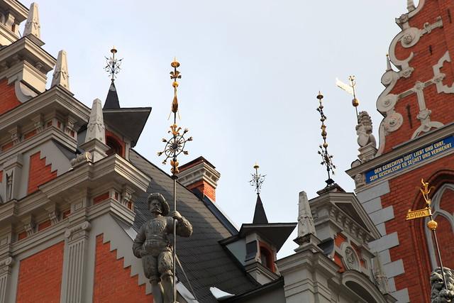 House of the Blackheads; Riga, Latvia - Flickr CC chrissy575