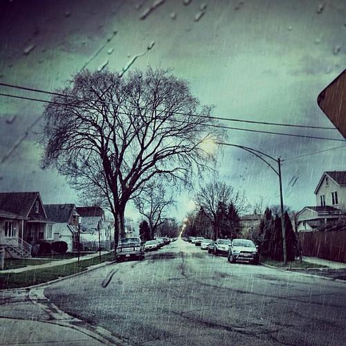 Cloudy & Rainy by Abigail Harenberg