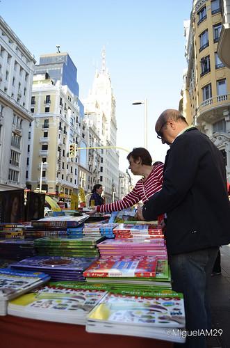 Libros en la Gran Vía