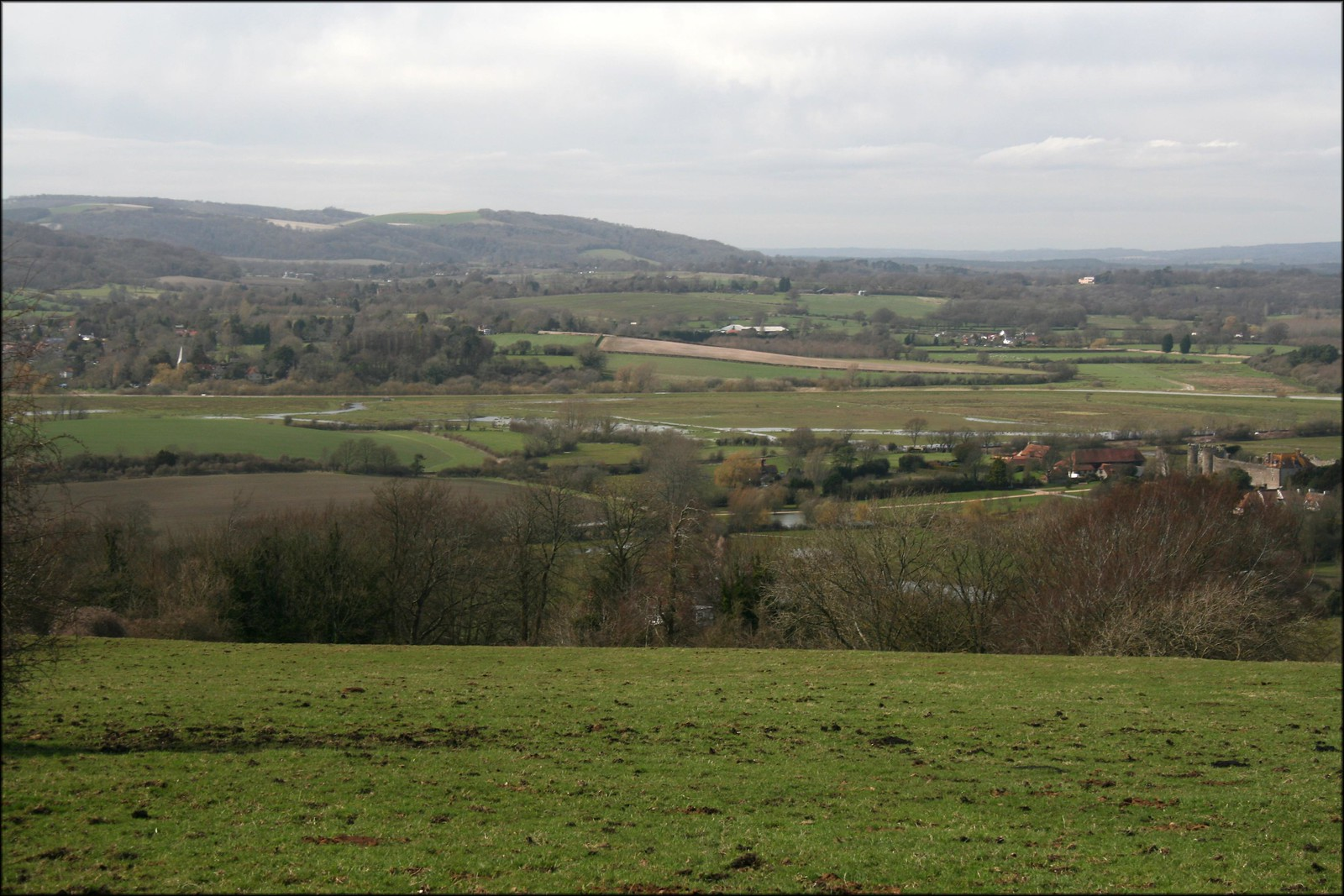 The Arun Valley near Amberley