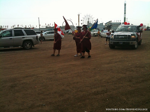 Reeves College Participates in Colonial Days Parade in Lloydminster Alberta 020
