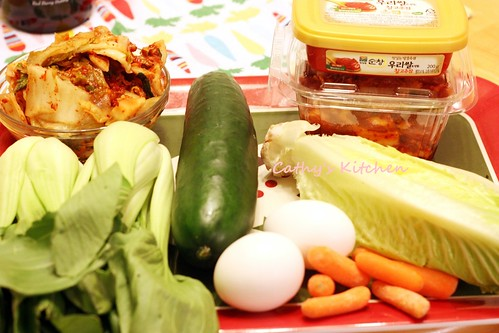 韓式泡菜豬肉拌飯  BiBimBap 9