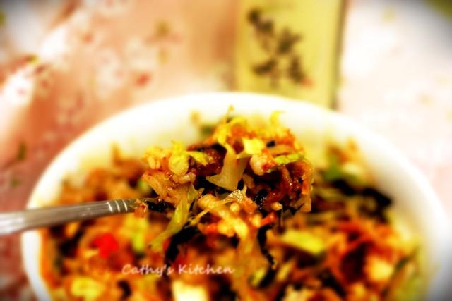 韓式泡菜豬肉拌飯  BiBimBap 5