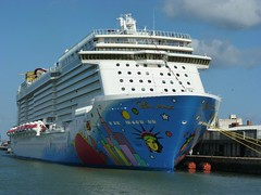 Norwegian Breakaway at Southampton - 29 April 2013