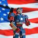 Iron Patriot by Dr. Scorpio
