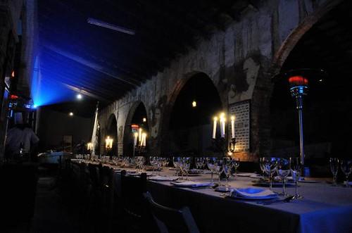 Antiga Destil·leria de l'Hostal, seu del Patí Català Calafell i de diversos actes de les 6es Jornades de la Penedesfera