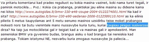 Varguoliai   Lietuvos kelių problema!