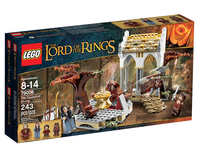 LEGO The Lord of the Rings 79006 - The Concil of Elrond - BoxArt
