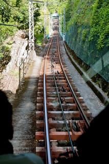 大山登山・ケーブルカー