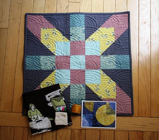 4DS Doll Quilt Swap Received!