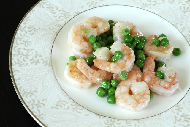 Shrimp & Peas 3
