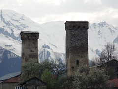 Two Towers of Svaneti