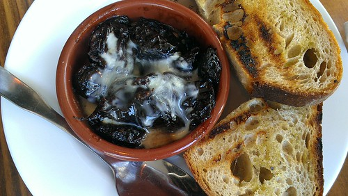 Prunes and toast