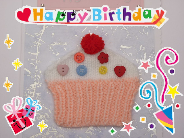 Knitting Happy Birthday Card : Birthday greetings for knitters