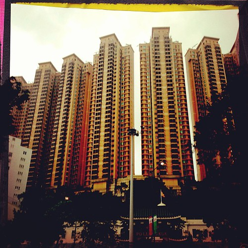 Beautiful tall buildings #hongkong