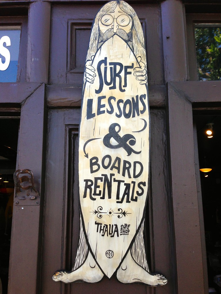 Surf Lessons at Thalia