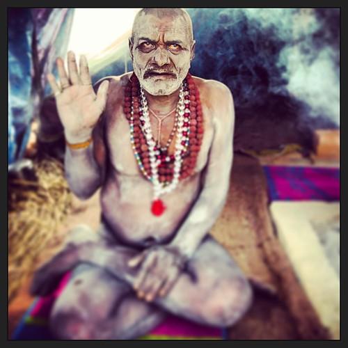 Naga Baba #kumbh #allahabad #mela #india #2013 #mendicant #naga #sadhu #baba by Shubh M Singh