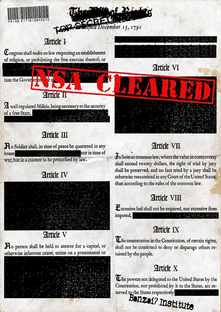 BILL OF RIGHTS DECLASSIFIED