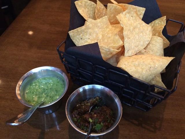 Chips and salsa - MXDC Cocina Mexicana