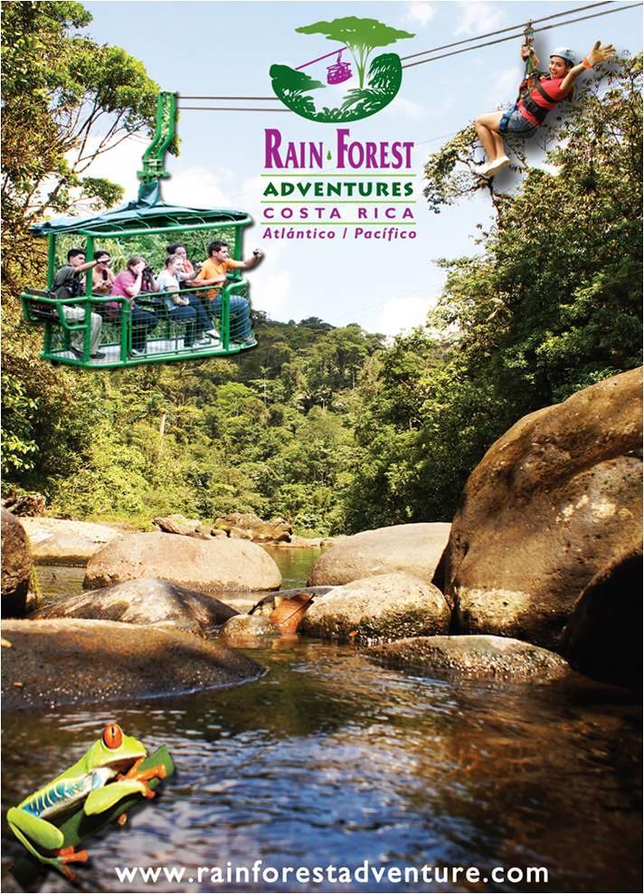 Download Rainforest Adventures Costa Rica Brochure