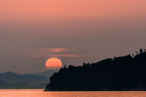 setonaikai setouchi sea seaside shikoku sunset summer ehime japan nikon d7200 tamron 70300mm 70300
