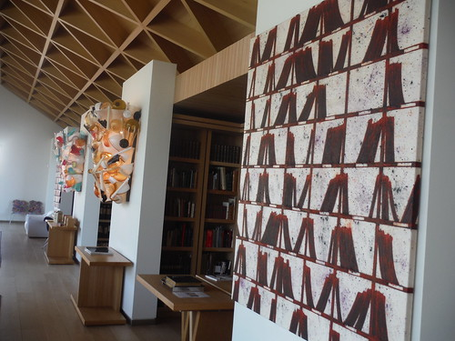 Archive (PC1412) and (PC144), Tony Bevan, 2014; Broken Dreams, H&F Campana, 2010, Reading Room of Windmill Hill Archive, Waddesdon Estate