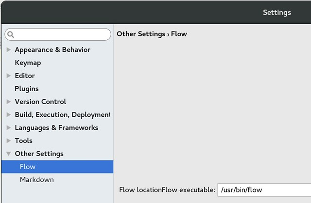 IDEA configure flow plugin