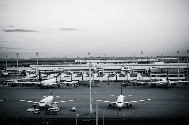 Munich Airport Apron
