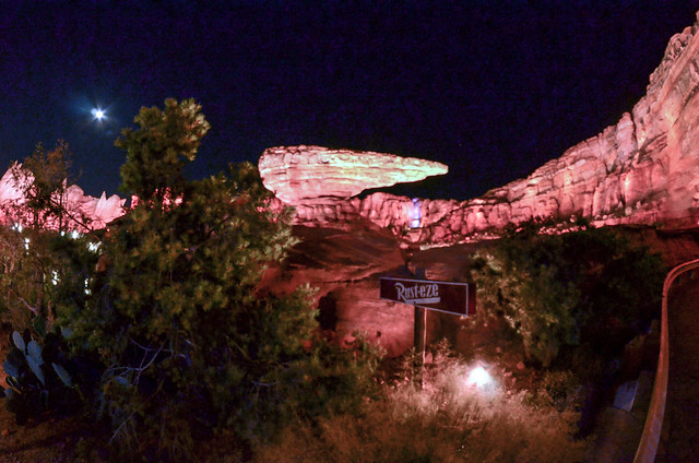 Cars Land night