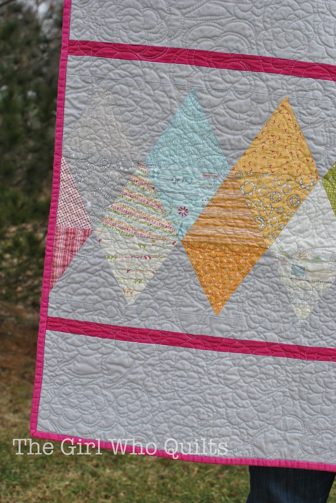 Baby Ric Rac Charm Quilt