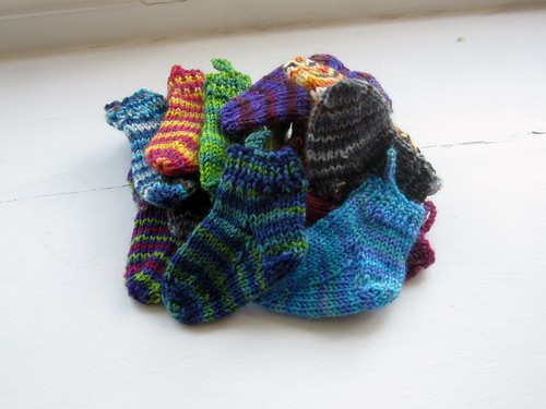 SGY mini socks, round 1