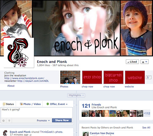 Enoch and Plonk