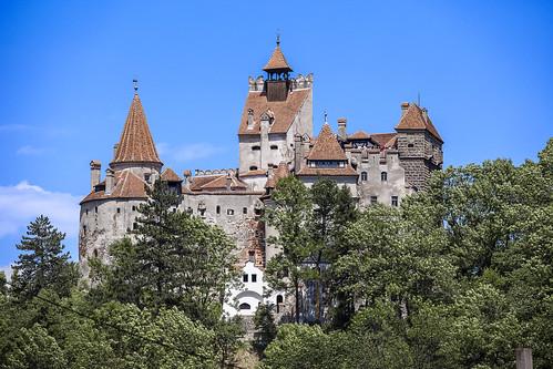 Замок Дракулы (Замок Бран). Румыния. Bran Castle. Romania