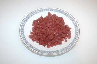 03 - Zutat magerer Speck / Ingredient bacon