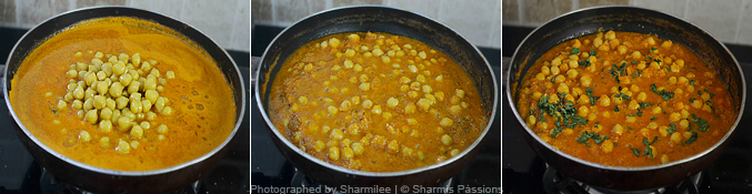 How to make chana masala  - Step4