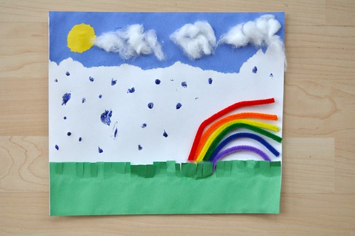 3D Weather Collage Preschool