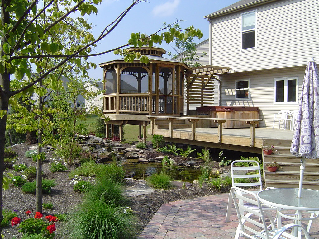 Decks Patios The Falls Group Landscaping Tree Service